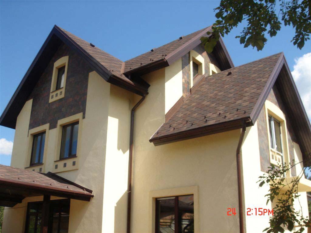 Материал для наружной отделке фасада дома
